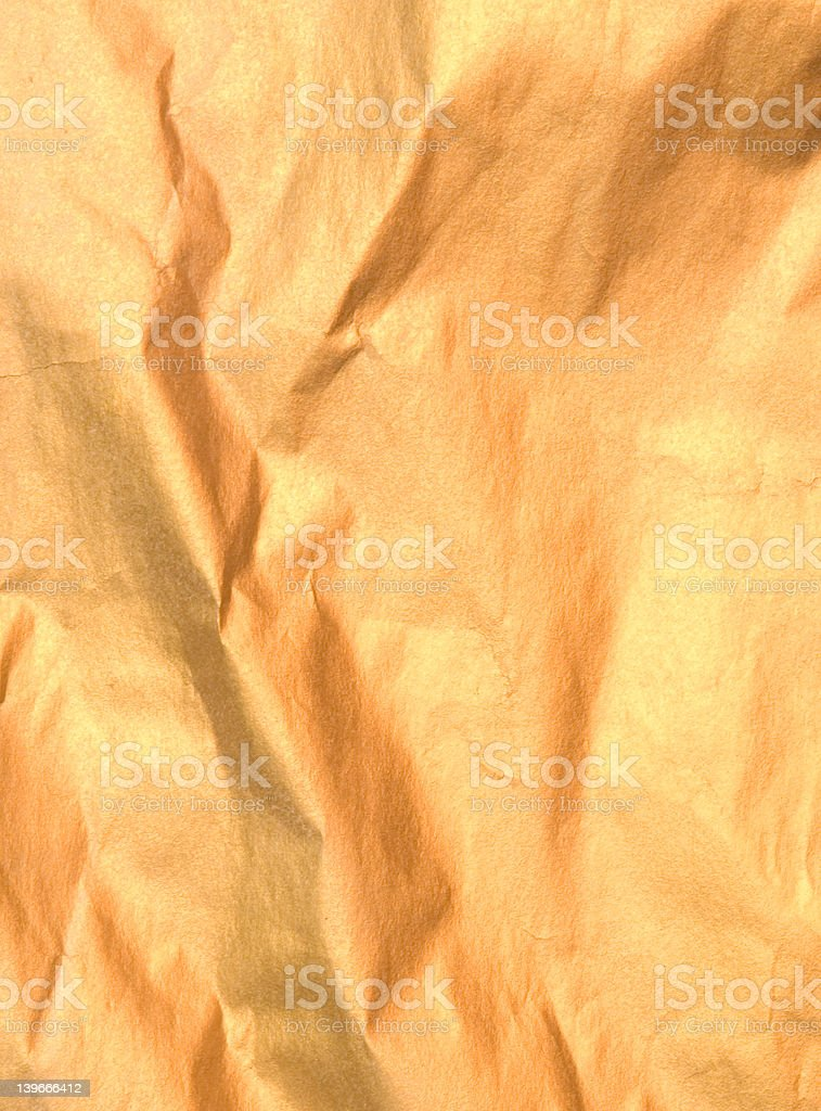 golden paper royalty-free stock photo