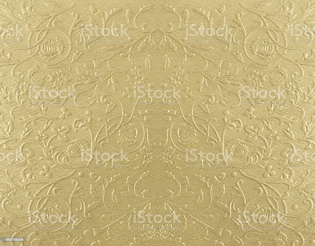 Golden pattern background stock photo
