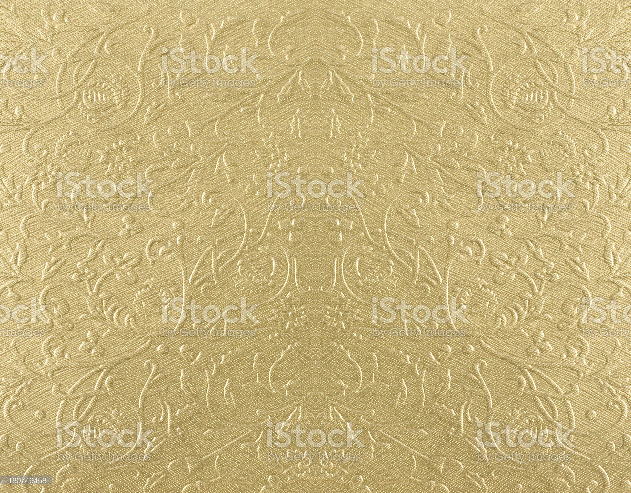 Golden pattern background royalty-free stock photo