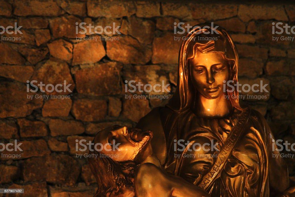 Golden Peita stock photo