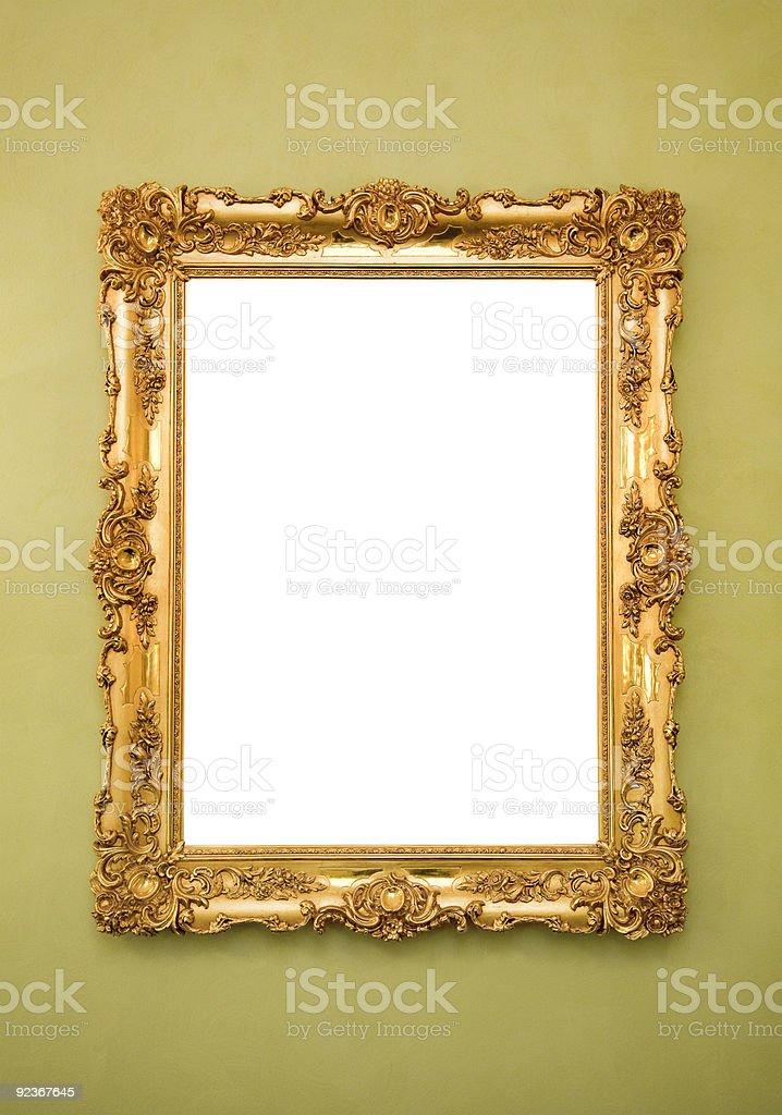 frame Ornate картины Стоковые фото Стоковая фотография