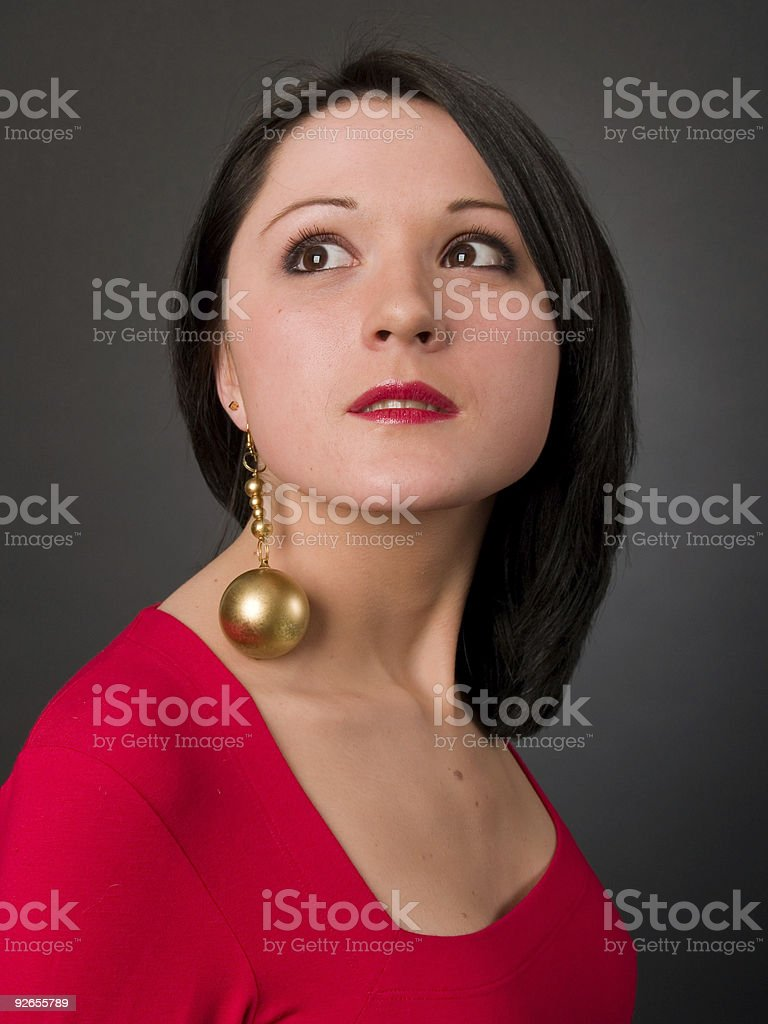 Golden royalty-free stock photo
