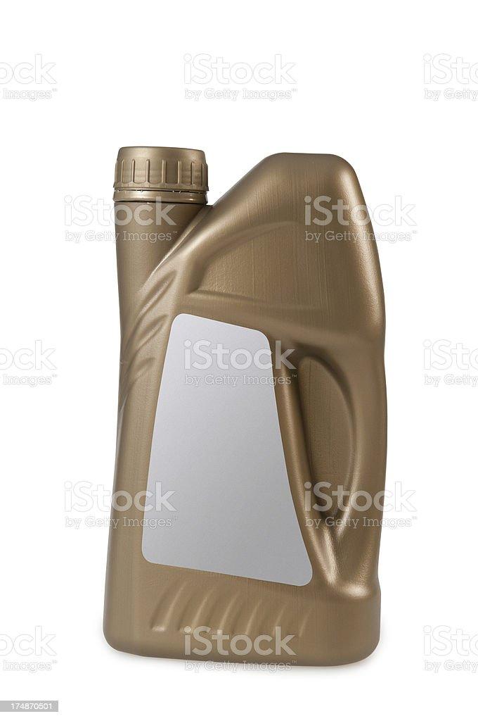 golden plastic bins stock photo
