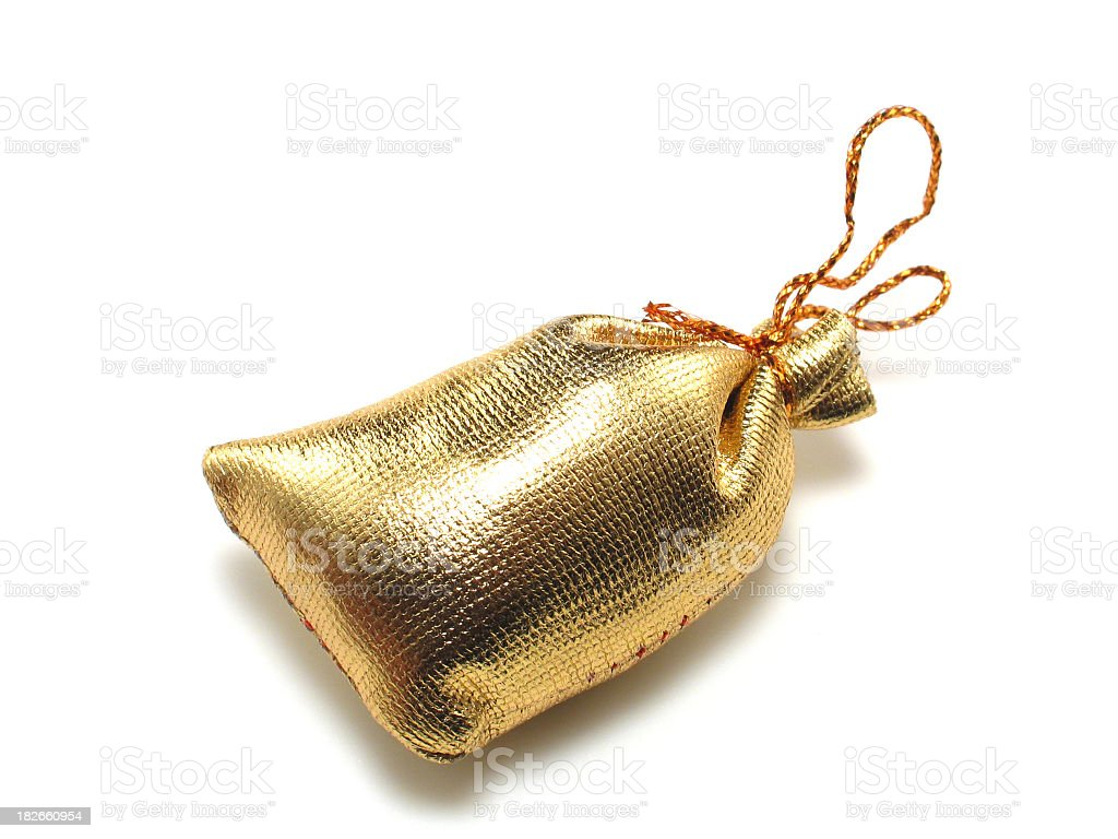 Golden Poke royalty-free stock photo
