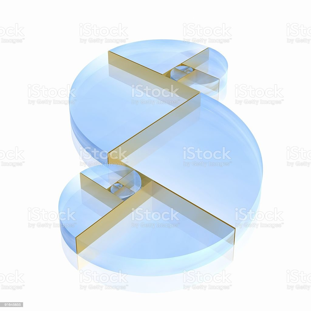 golden ratio royalty-free stock photo