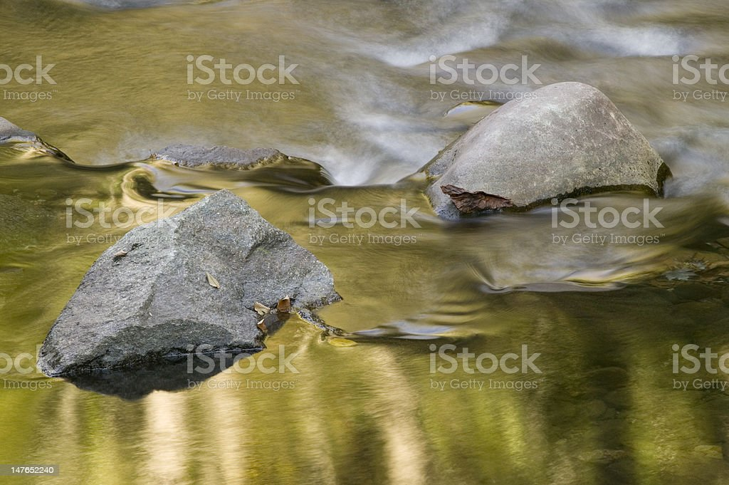 Golden Reflections royalty-free stock photo