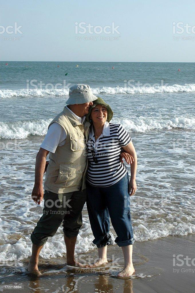 Golden retirement royalty-free stock photo