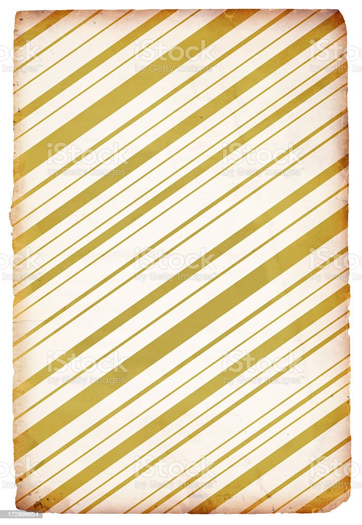 Golden Retro-Pattered Paper XXXL royalty-free stock photo