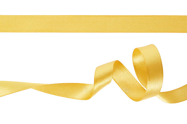 decorative golden ribbons pictures images and stock photos istock