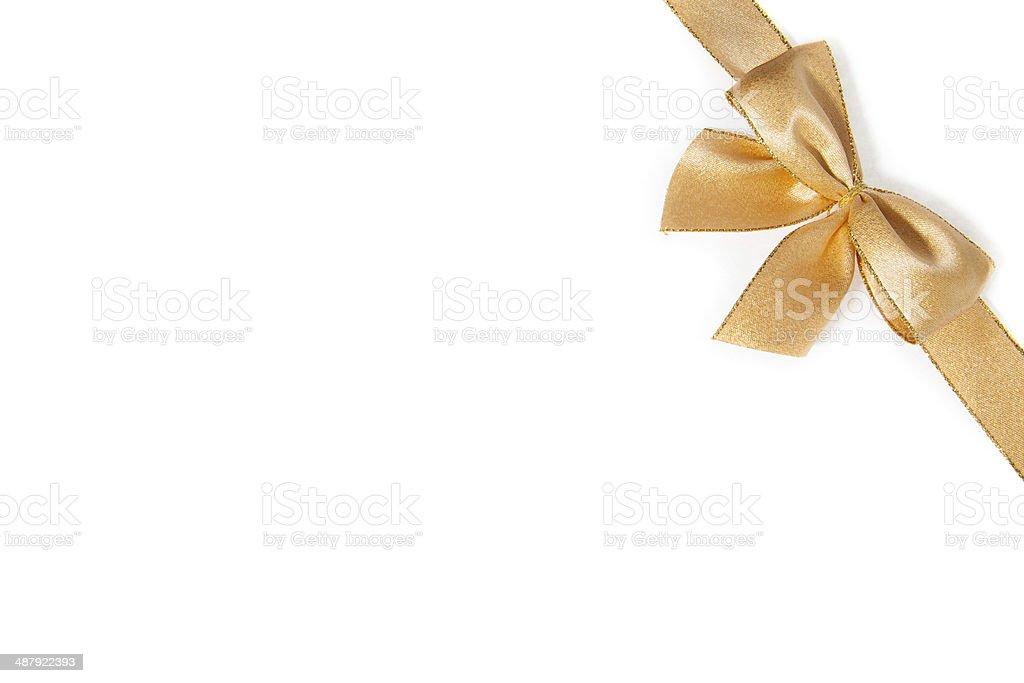 Golden cinta foto de stock libre de derechos