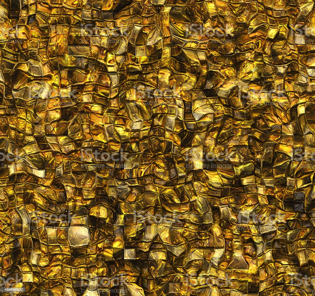 golden rock shining wall relief texture backgrounds stock photo