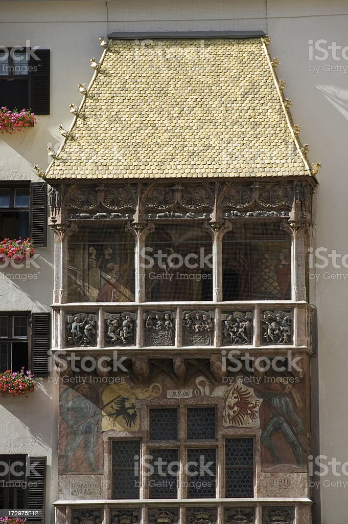 Goldenes Dachl stock photo