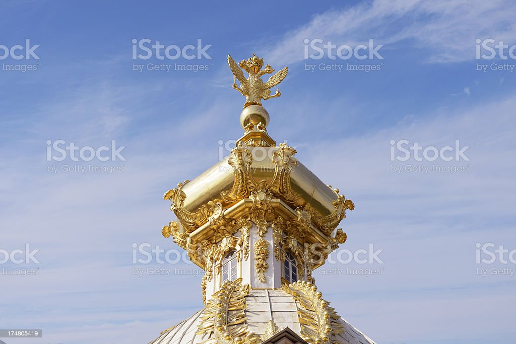 Golden Roof stock photo