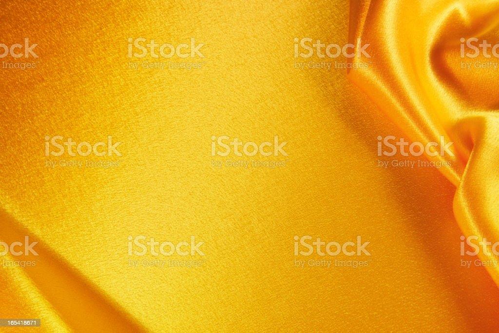 Golden satin royalty-free stock photo