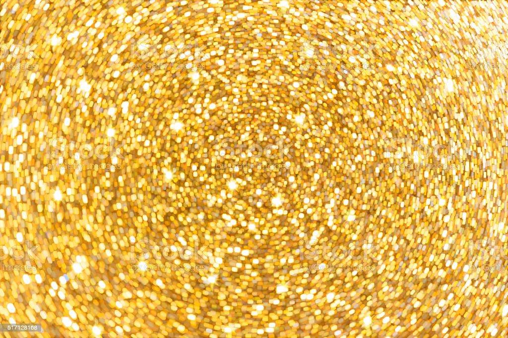 Golden shiny holiday background stock photo