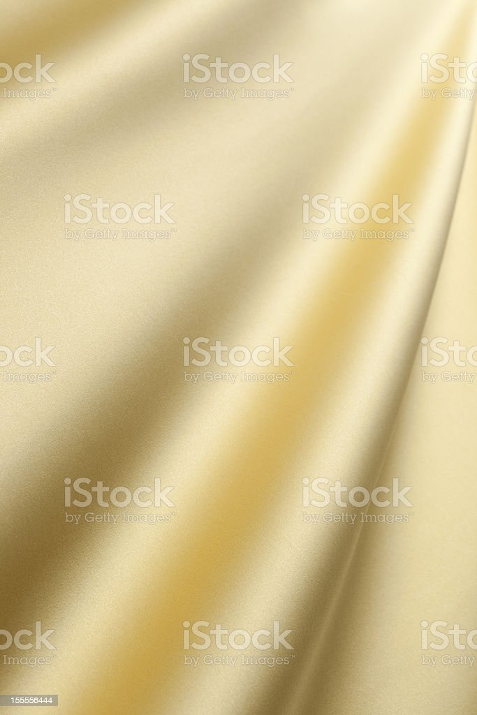 Golden silk royalty-free stock photo