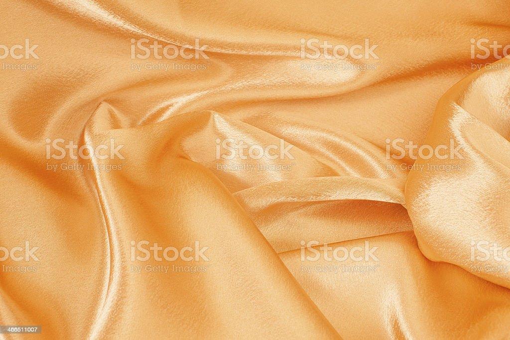 Golden silk. stock photo