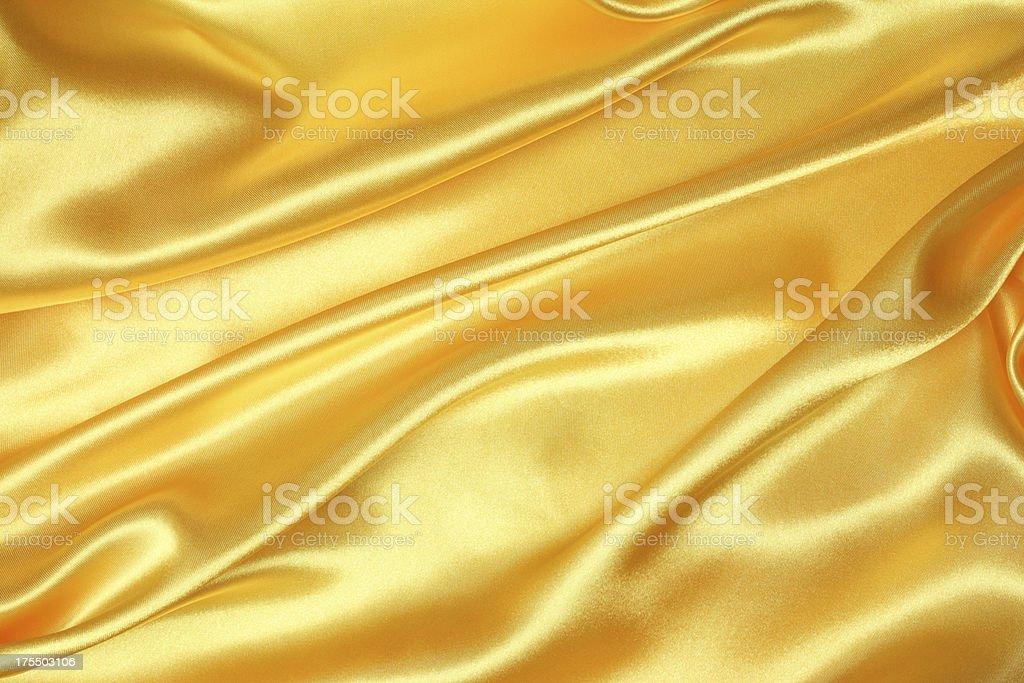 Golden Silk Texture stock photo