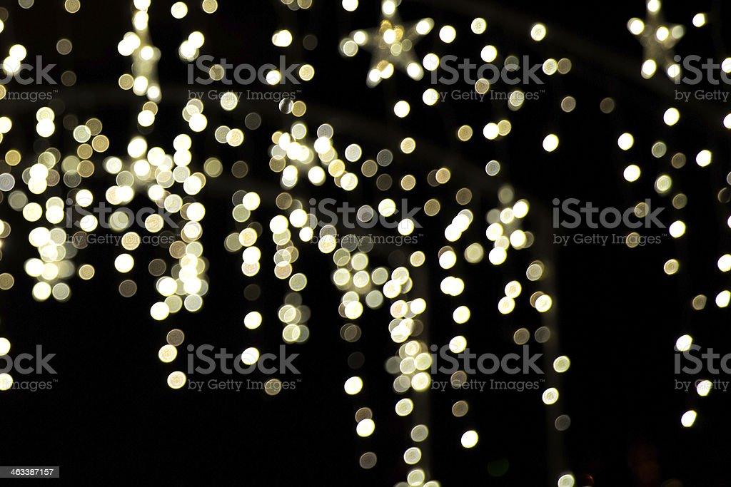 golden sparkling stock photo