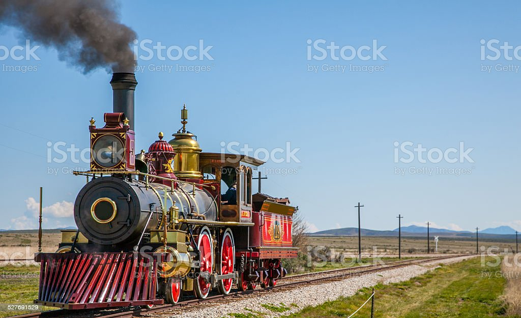 Golden Spike National Historic Site stock photo