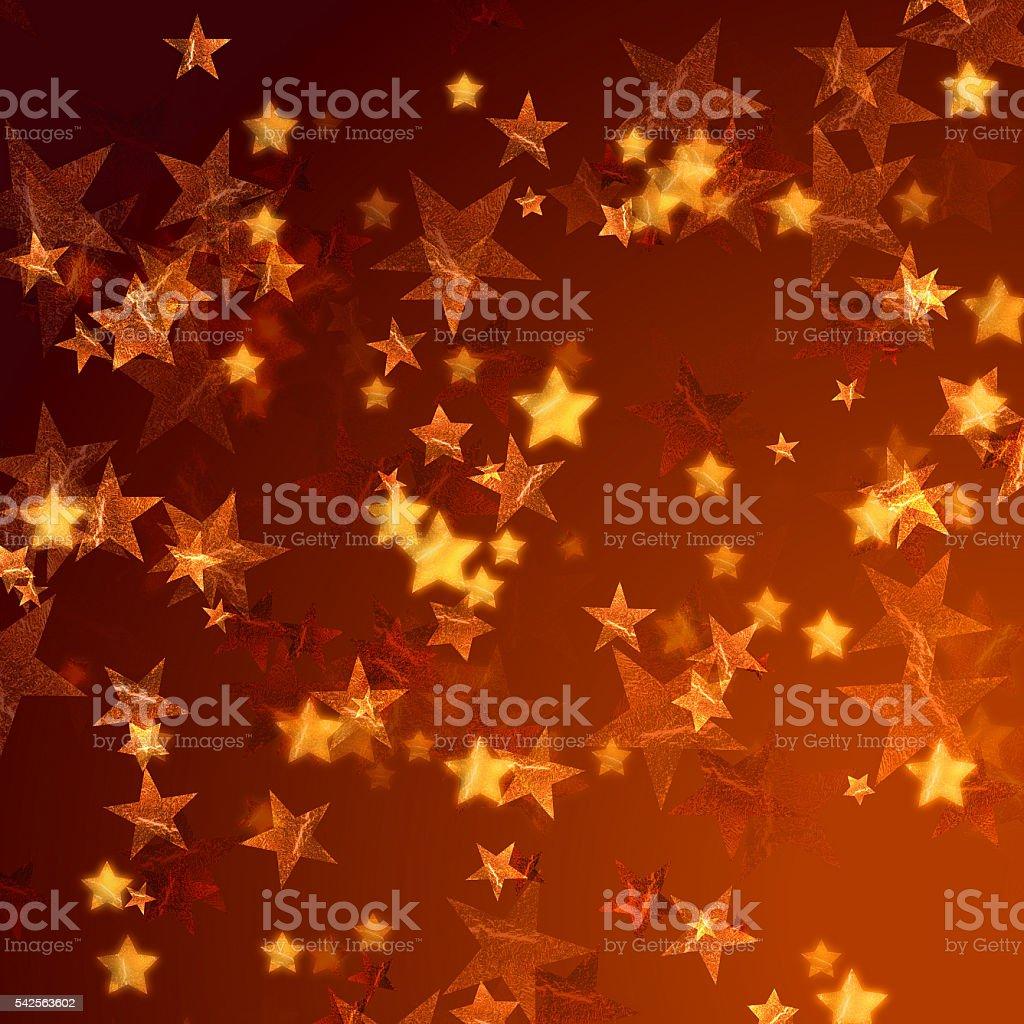 golden stars background stock photo