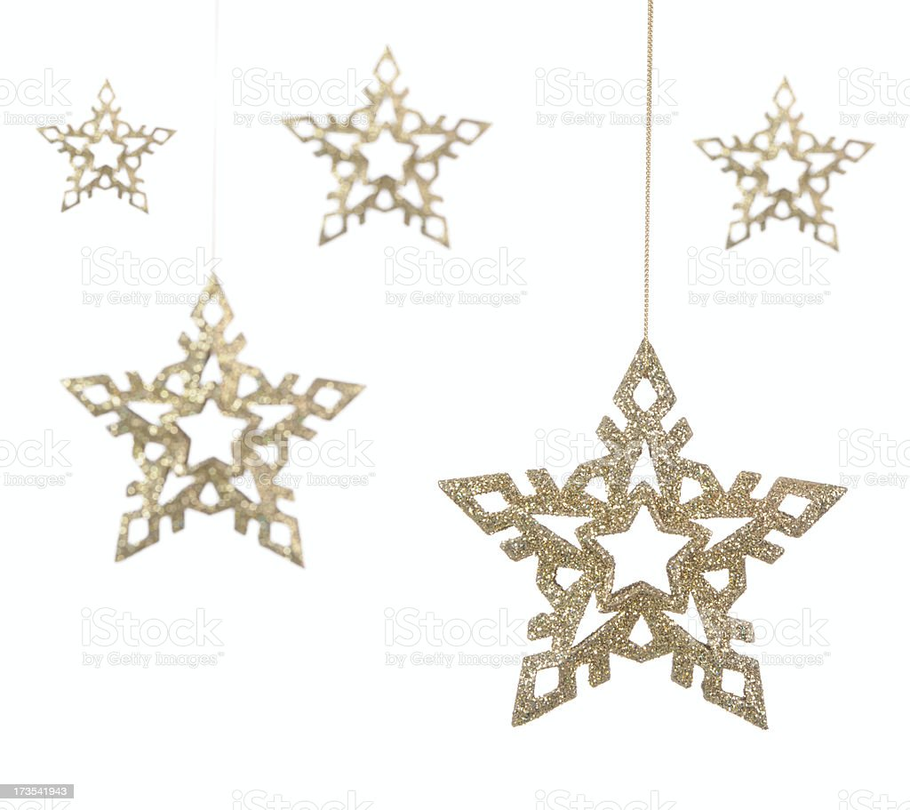 Golden Stars! (XXL) royalty-free stock photo