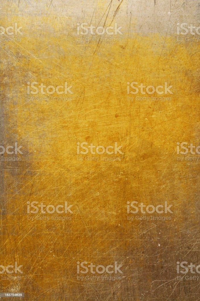 Golden Steel stock photo