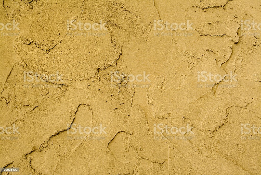 golden stucco wall royalty-free stock photo