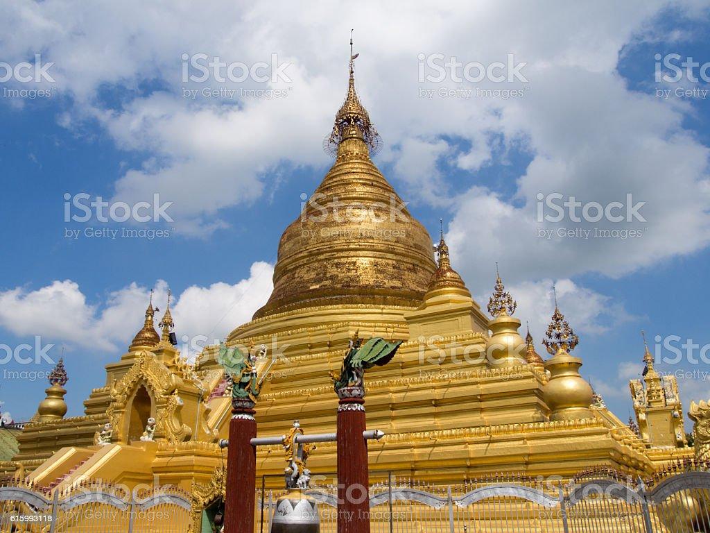 Golden Stupa stock photo
