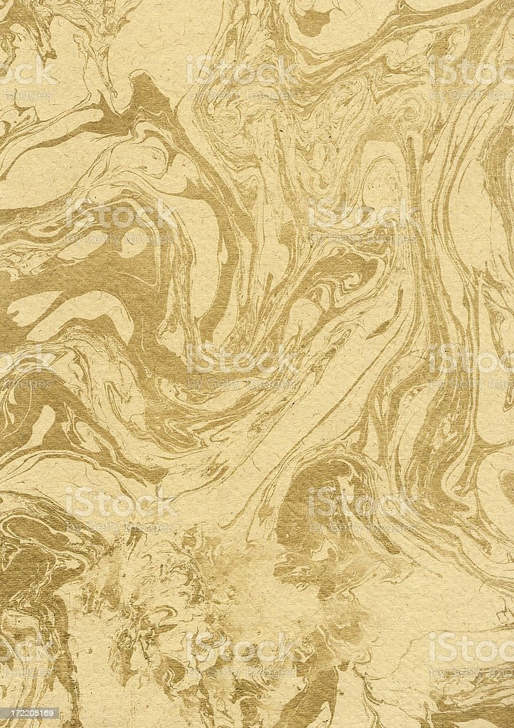 Golden Swirl royalty-free stock photo