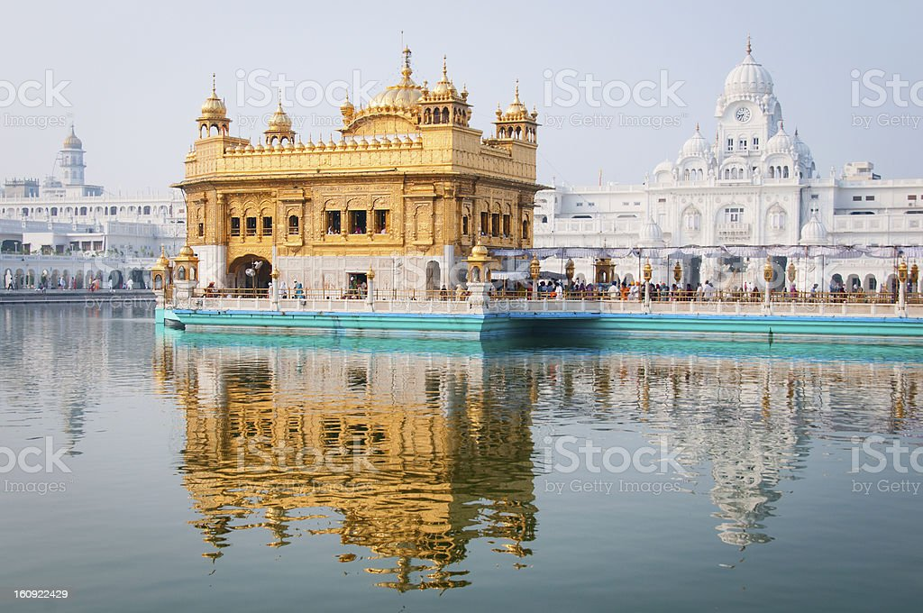 Golden temple, Amritsar, India royalty-free stock photo