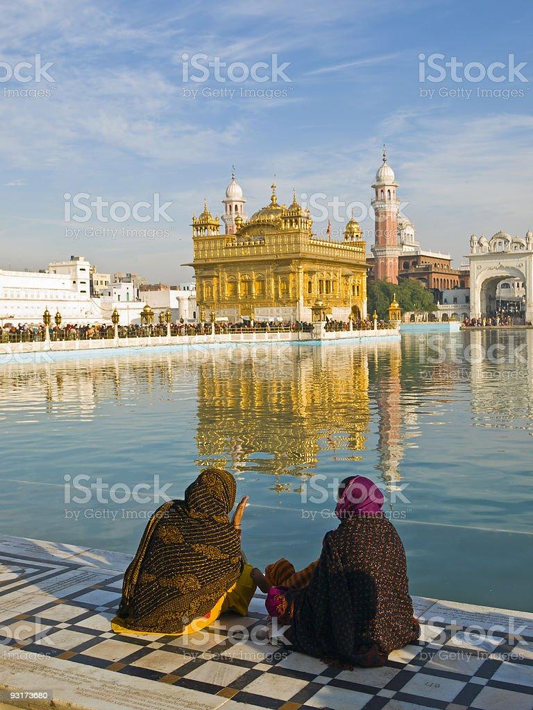 Golden Temple, Amritsar, India royalty-free stock photo