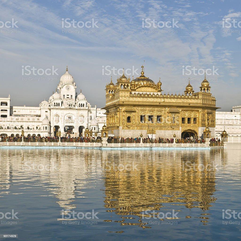 Golden Temple, Amritsar, India stock photo