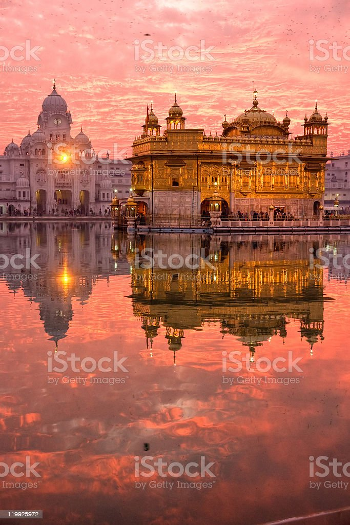 Golden Temple, Amritsar, stock photo