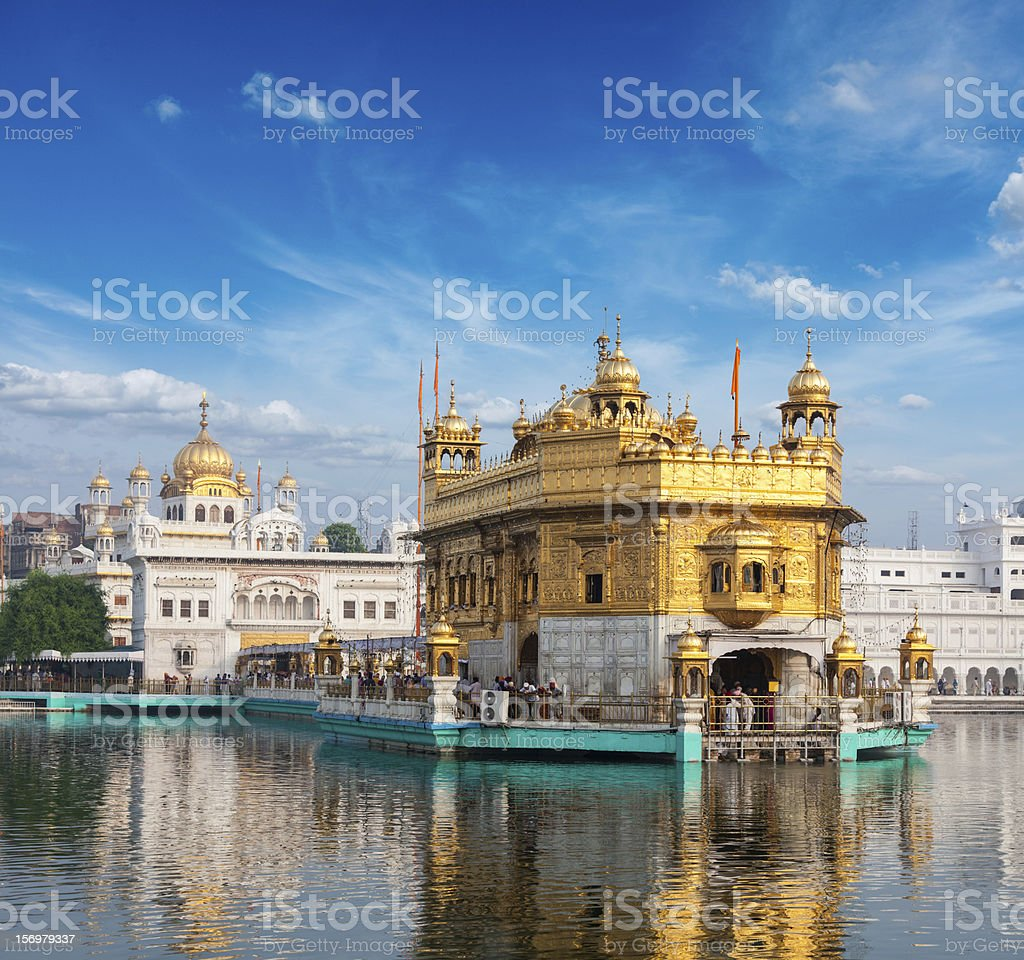 Golden Temple, Amritsar royalty-free stock photo