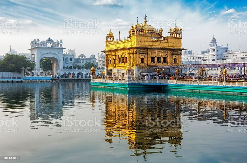 Golden Temple, Amritsar stock photo