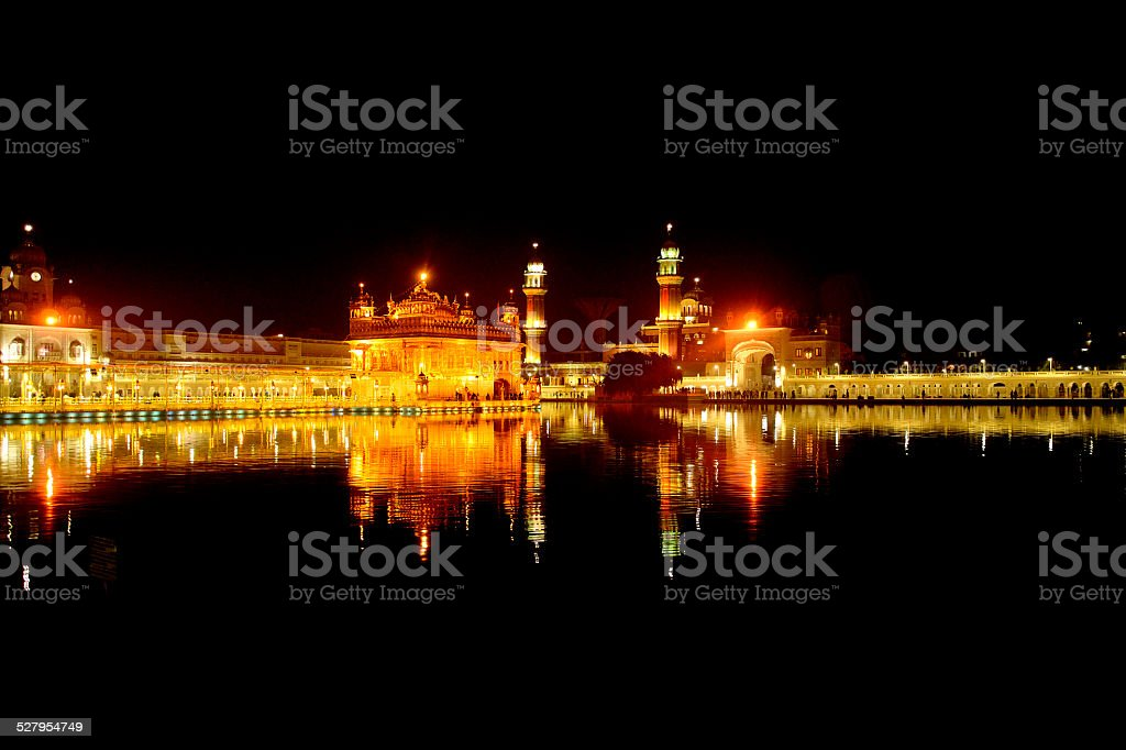 Golden Temple (full),Amritsar stock photo