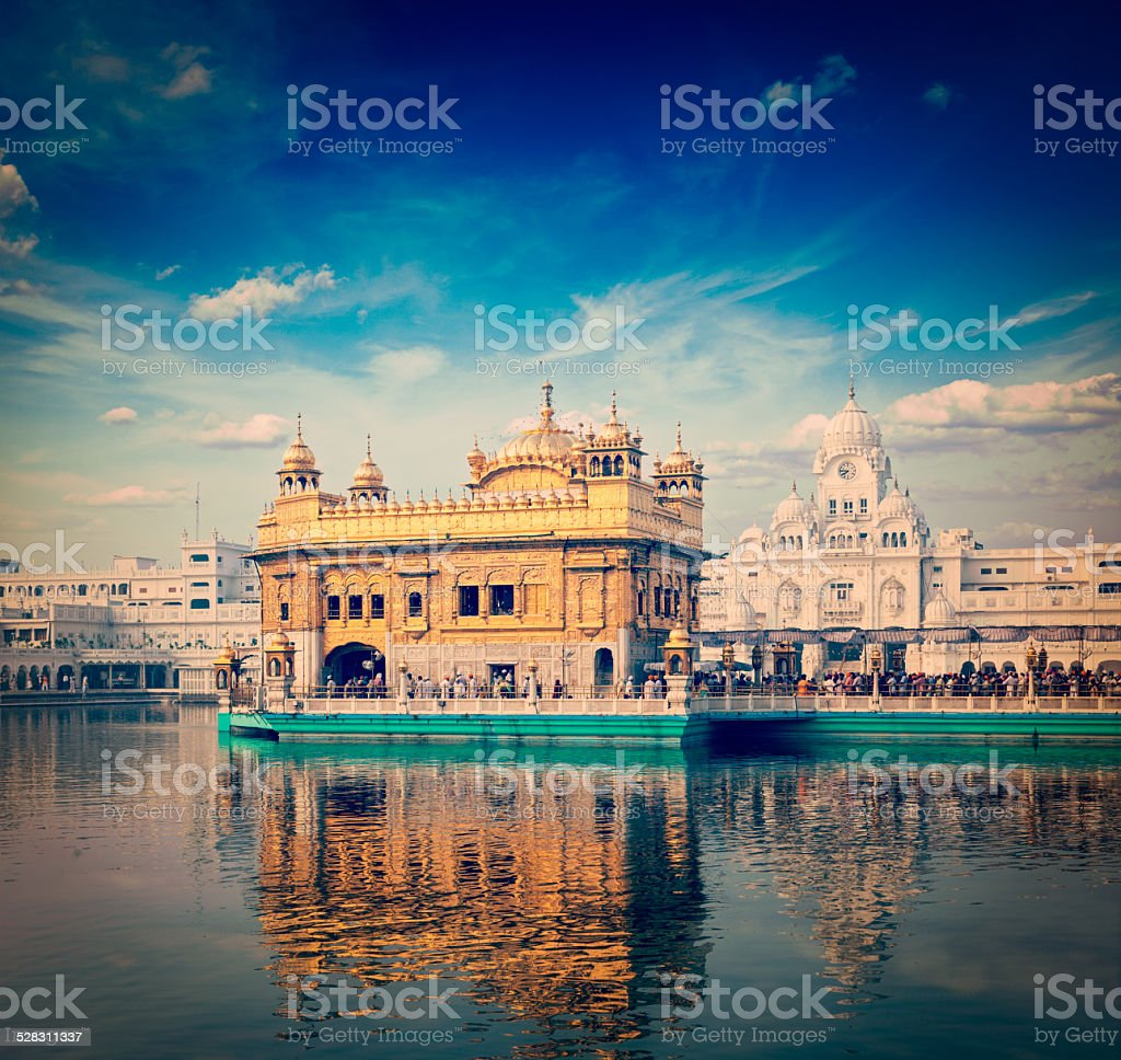 Golden Temple, Amritsar stock photo