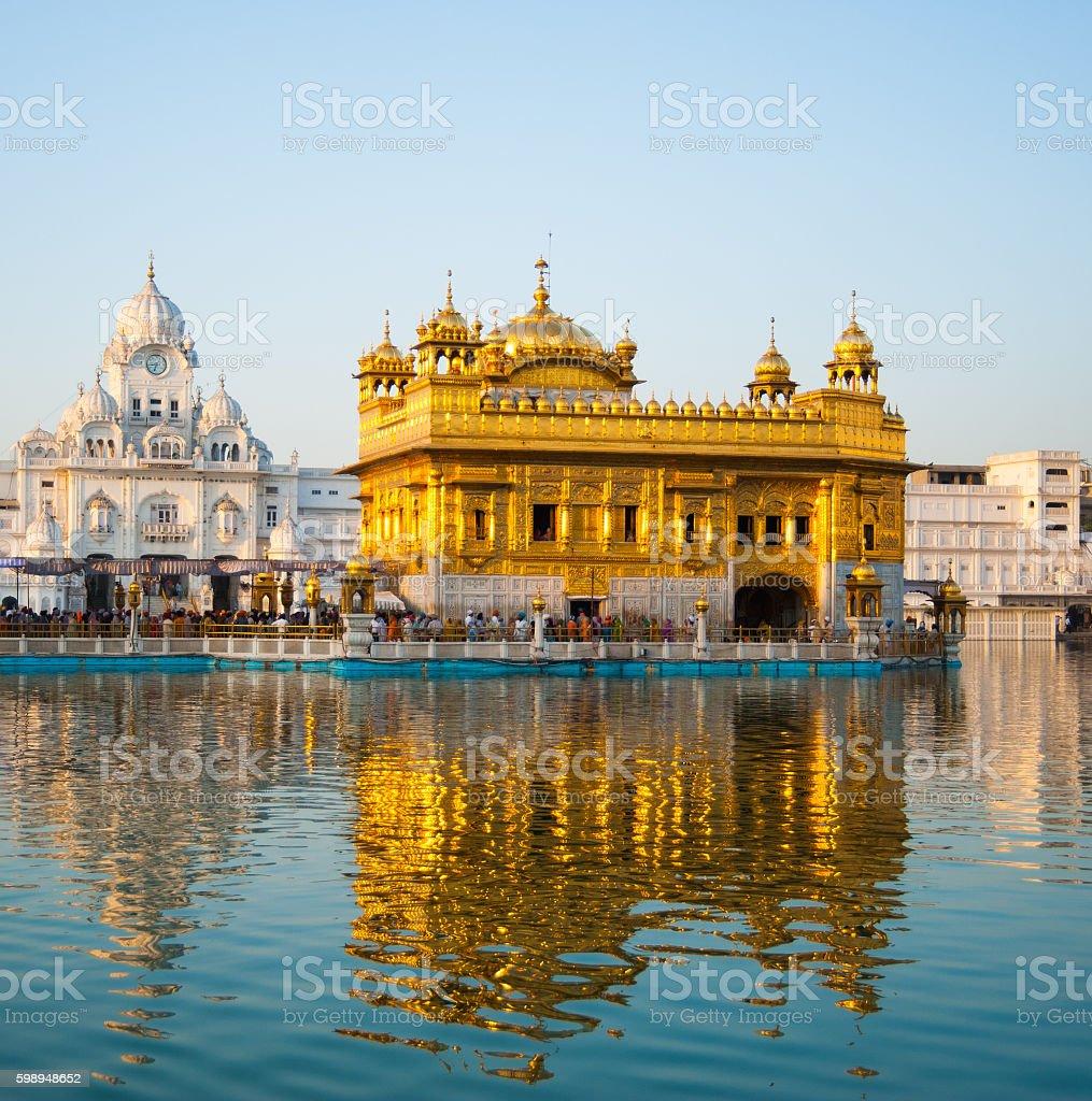 Golden Temple Amritsar stock photo