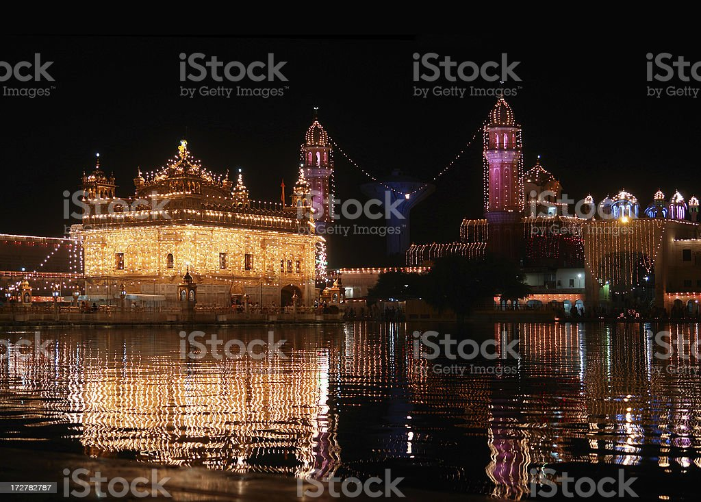 Golden Temple in Amritsar, India royalty-free stock photo