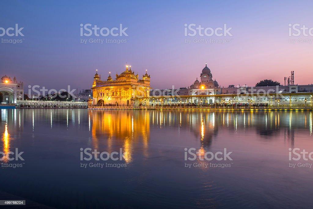 Golden Temple in Amritsar, India stock photo