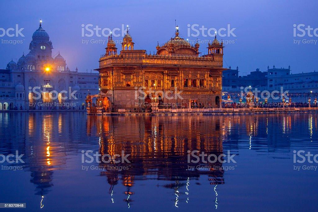 Golden Temple of Amritsar - Pubjab - India stock photo