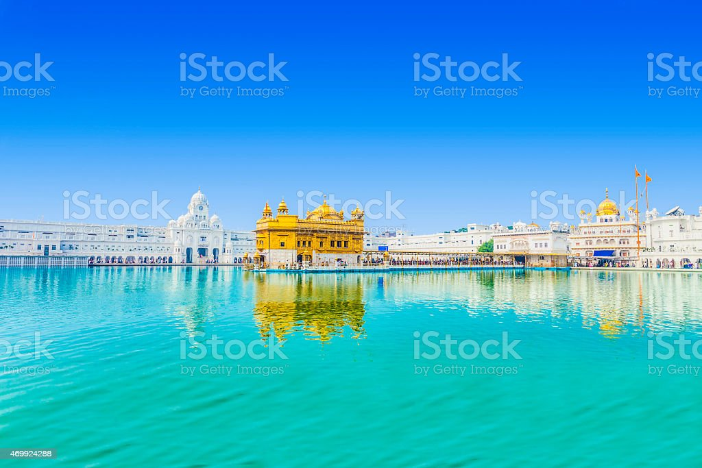 Golden Temple stock photo