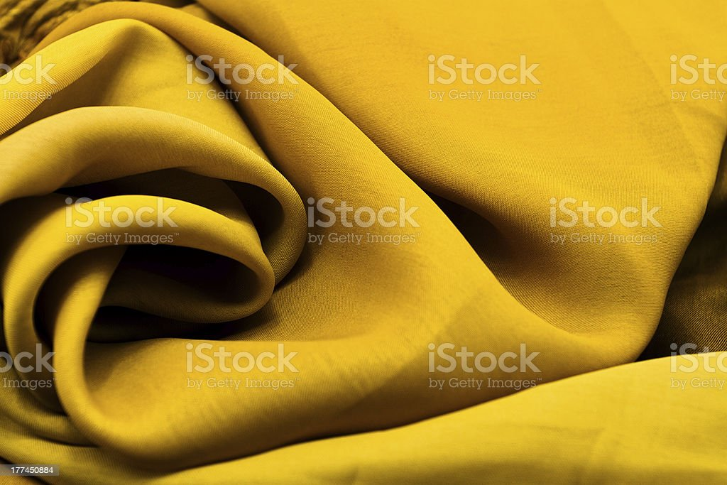 Golden textile royalty-free stock photo