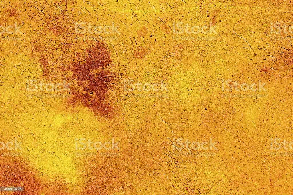 Golden textured grunge background royalty-free stock photo