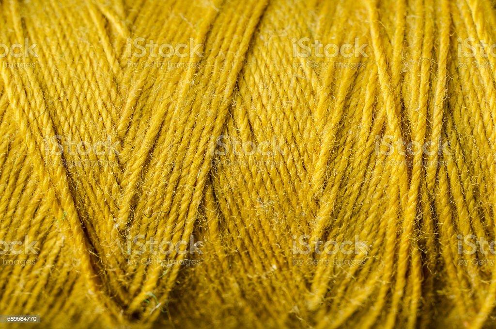 golden thread stock photo