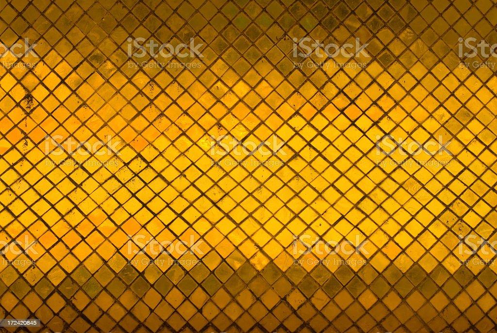 Golden Tiles at Wat Phra Kaew royalty-free stock photo
