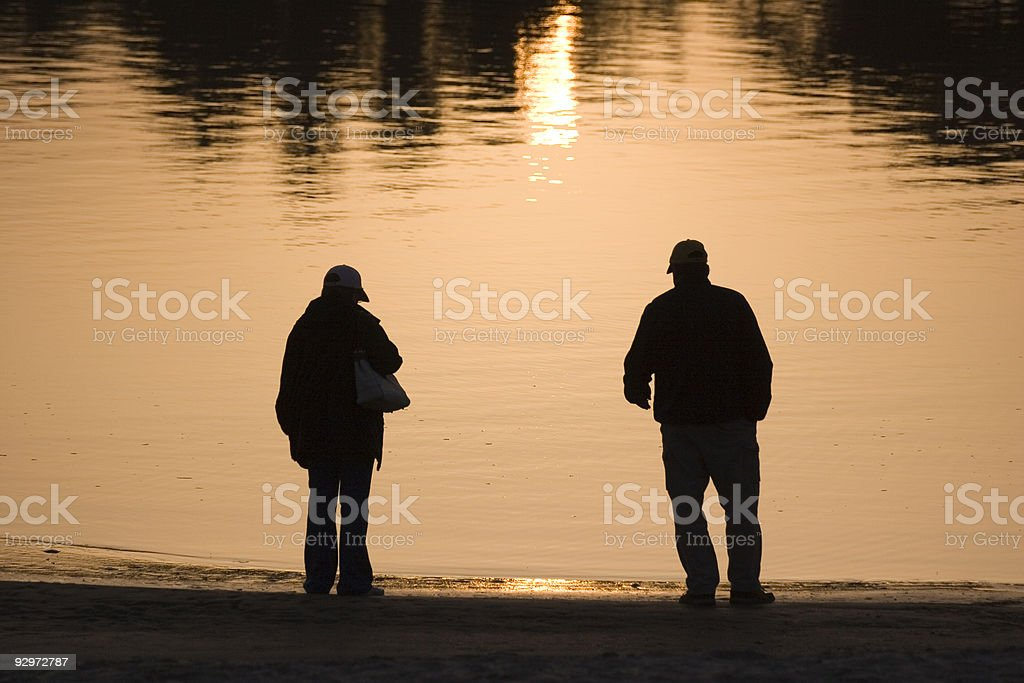 Golden Time royalty-free stock photo