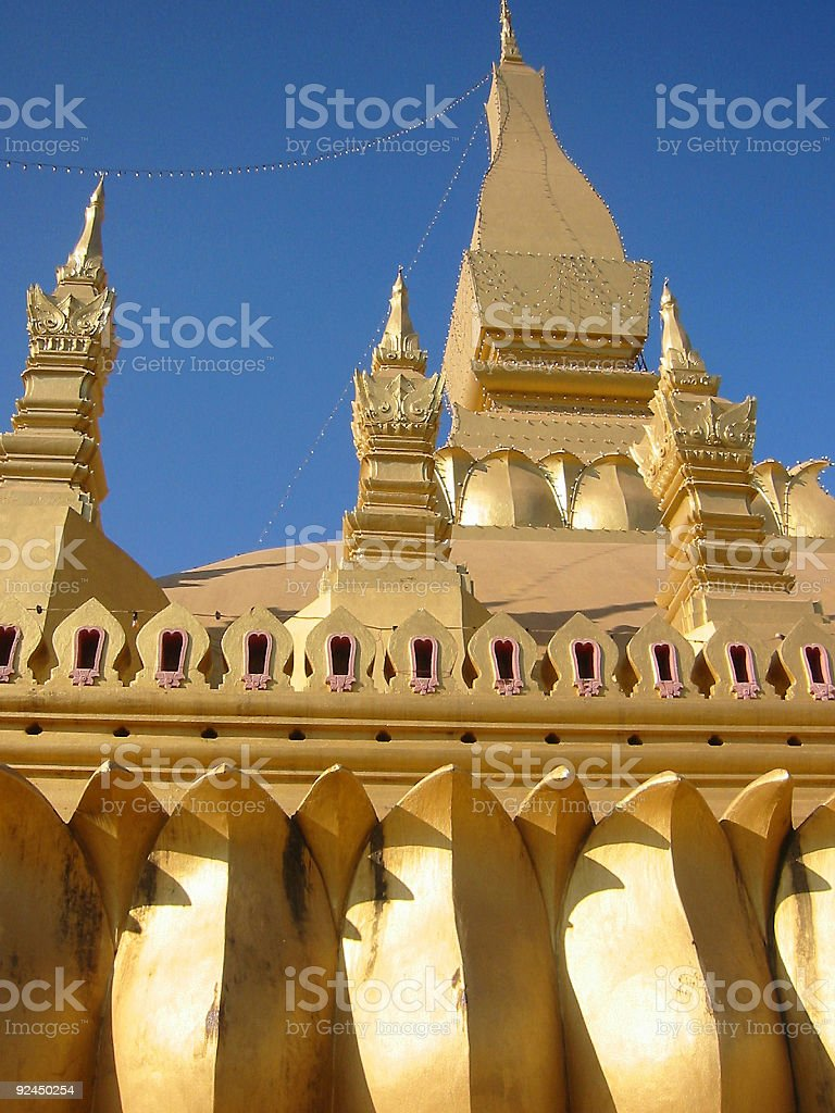 golden tower royalty-free stock photo