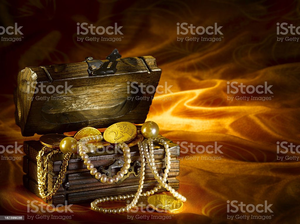 Golden Treasure stock photo